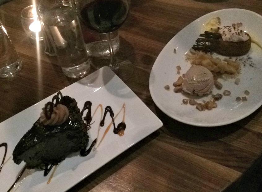 Park 600 dessert