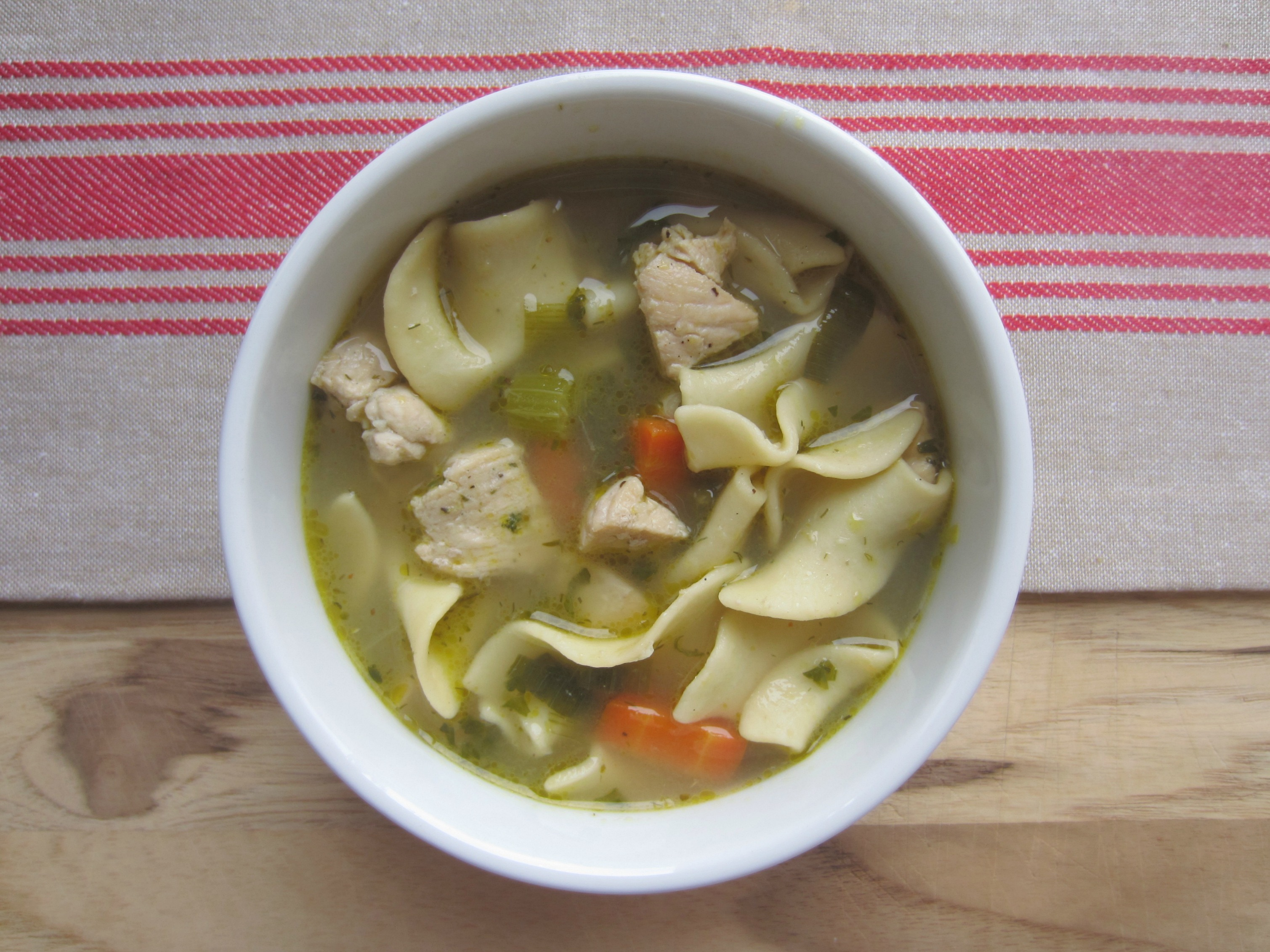 chicken noodle soup healthy recipe