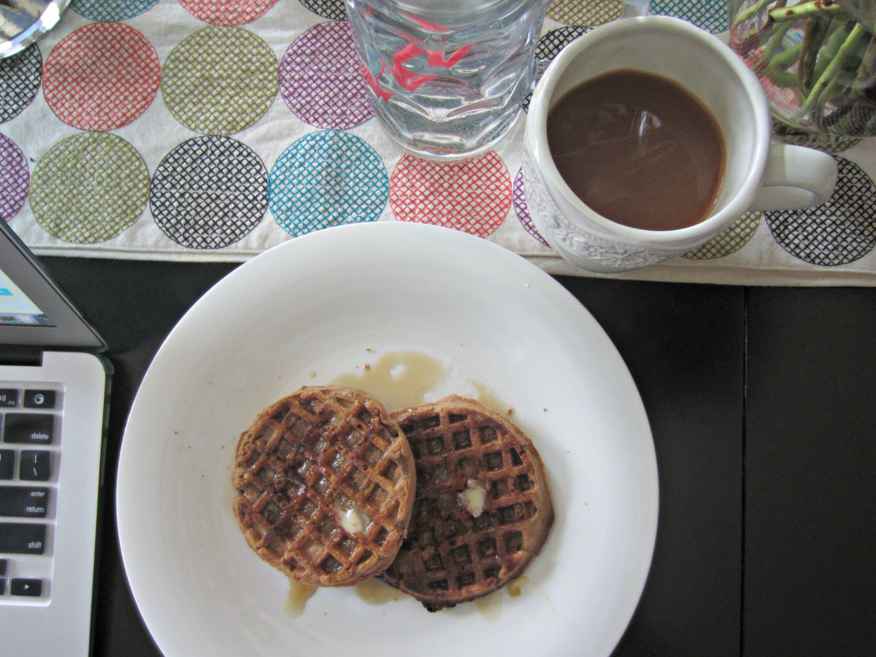 nature's path chia plus waffles