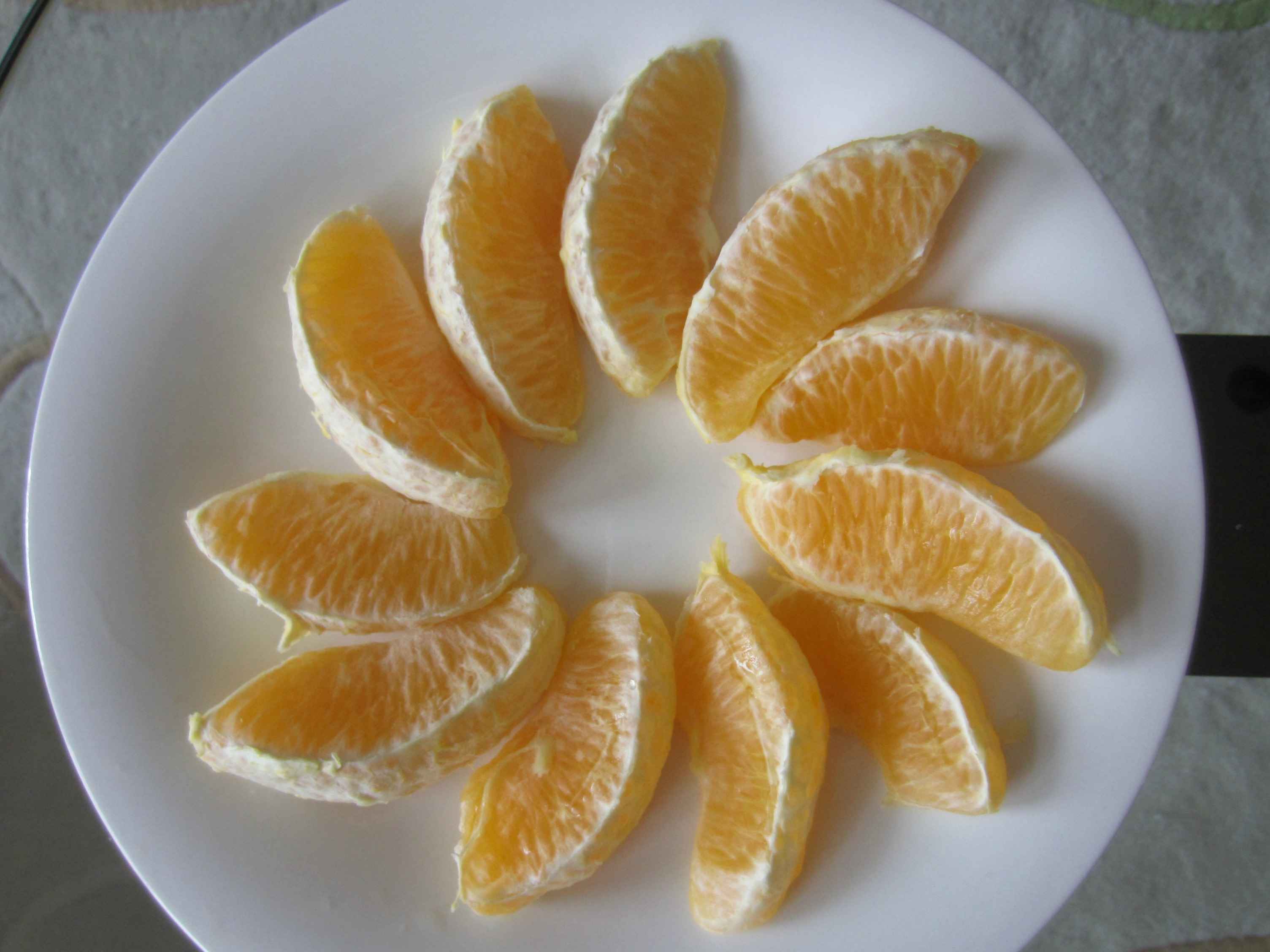 navel orange - healthy snack