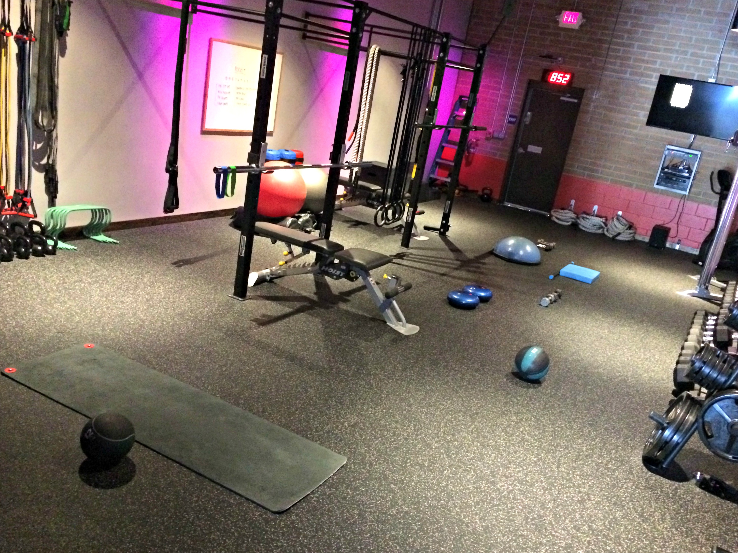 rock city fitness group training classes