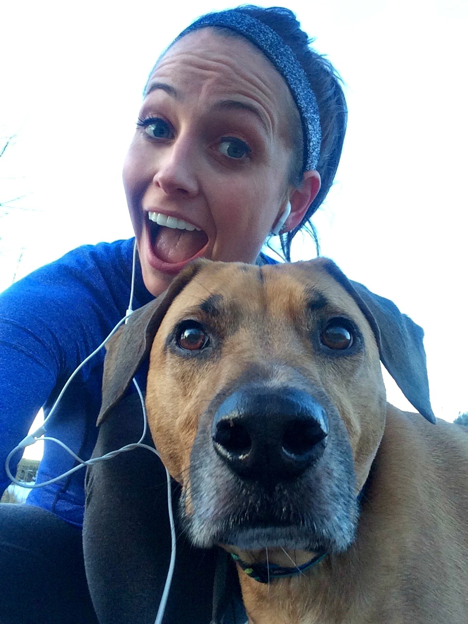 running with roadie