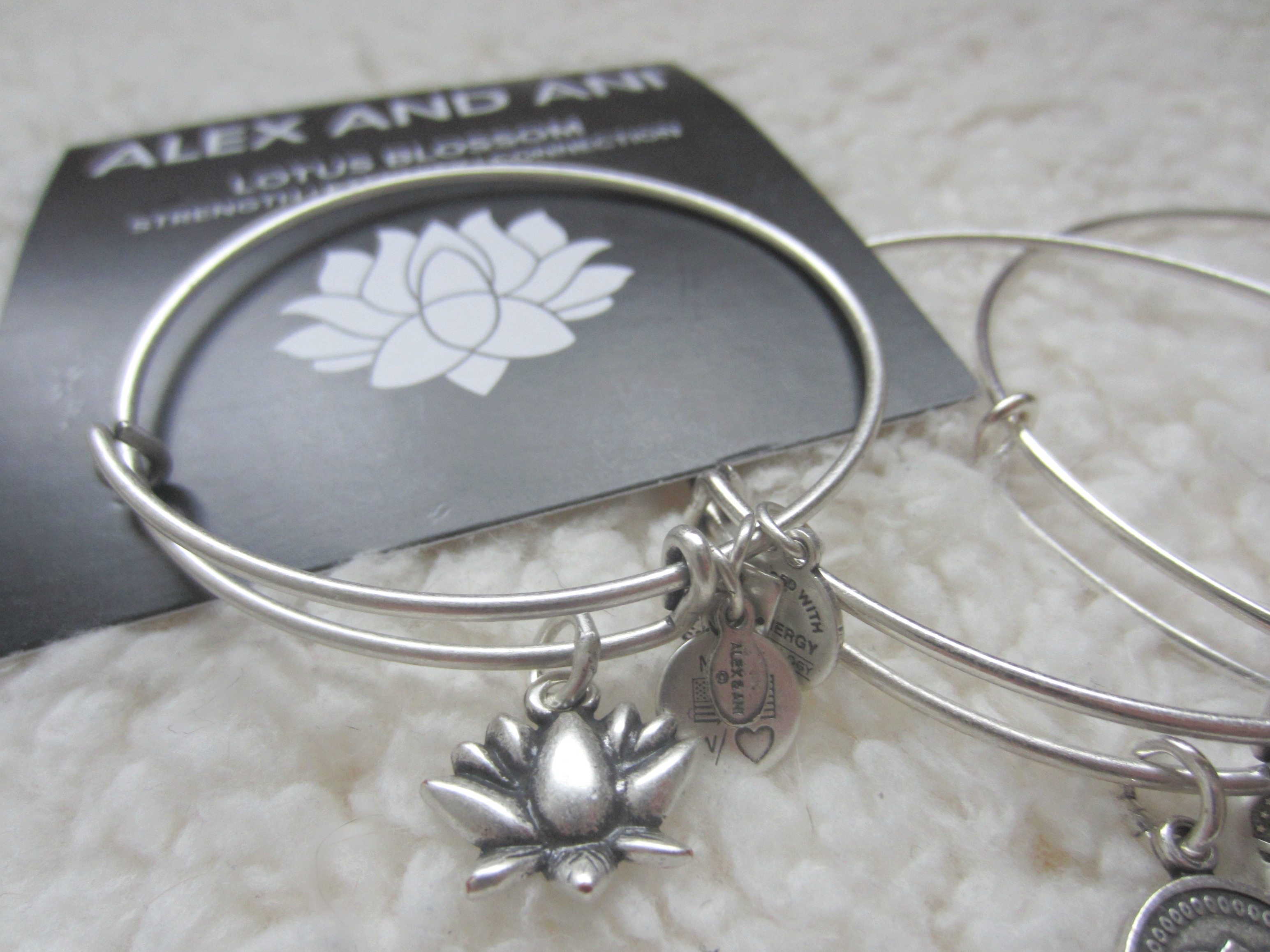 Alex and Ani Lotus Blossom bracelet