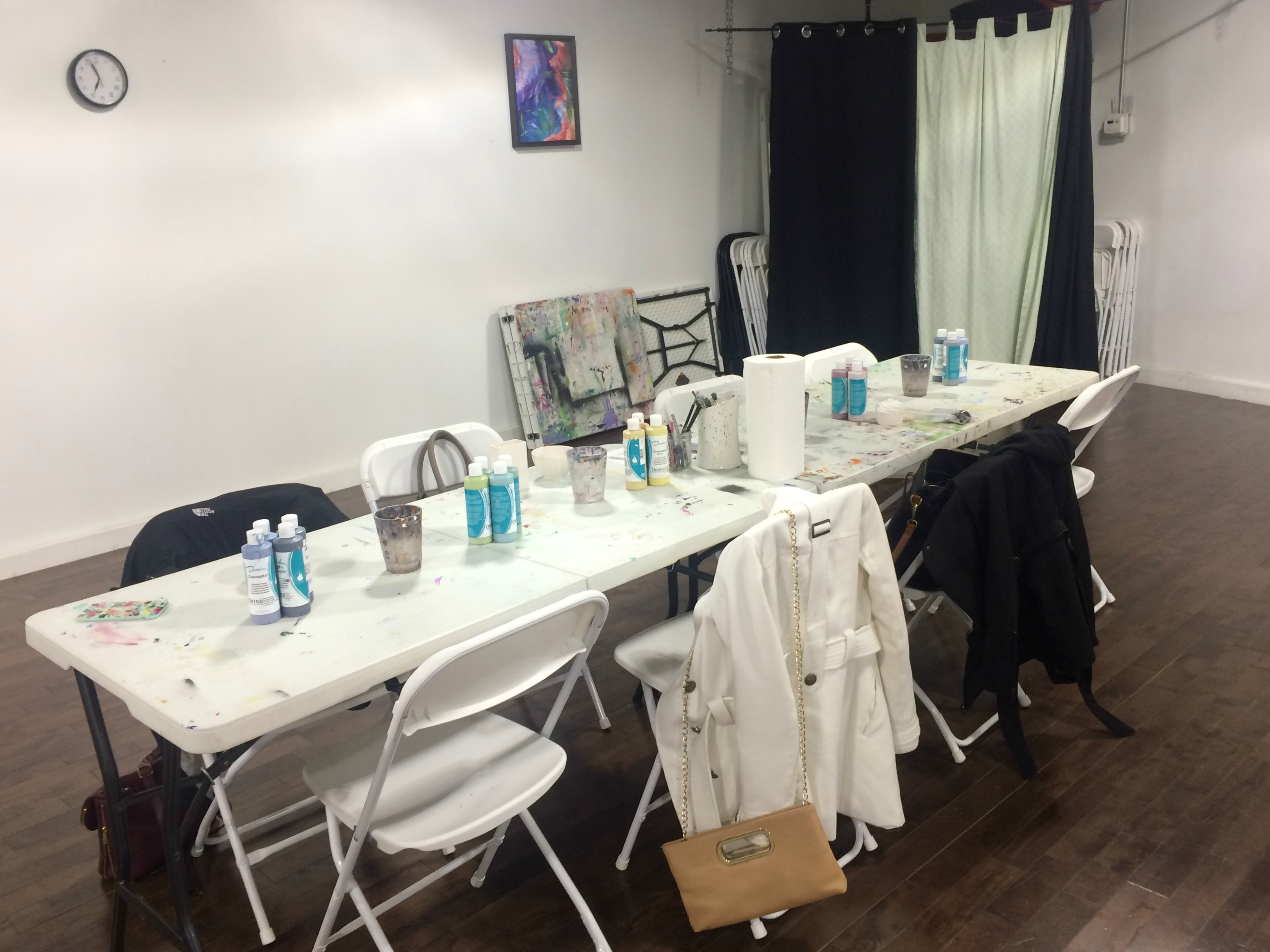 Merge Pottery & Painting
