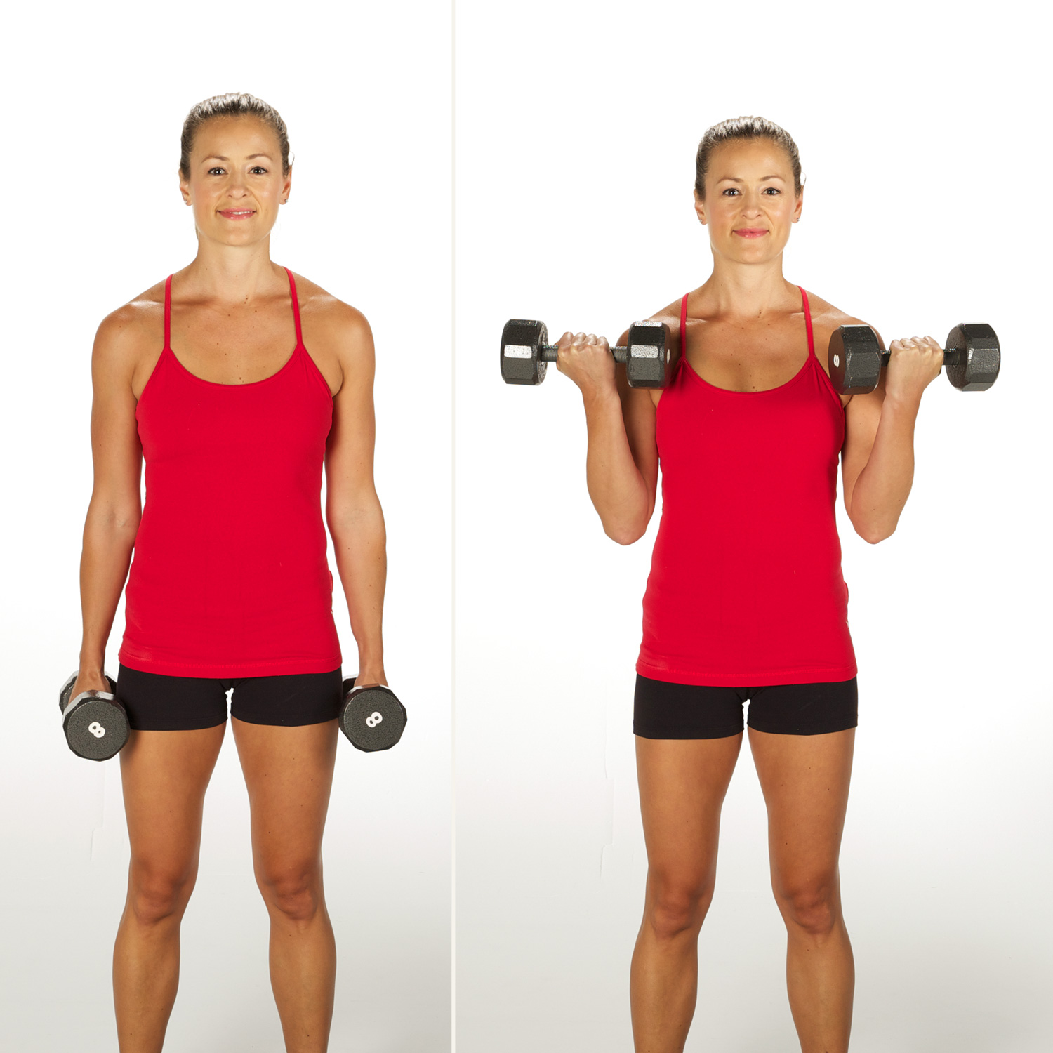dumbbell biceps curls