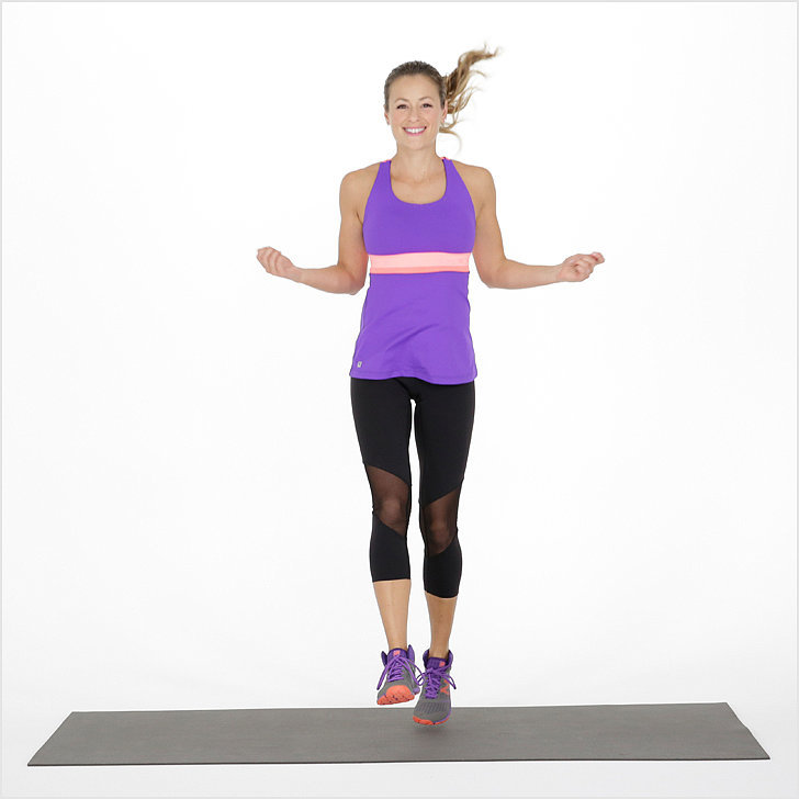 invisible jump rope exercise