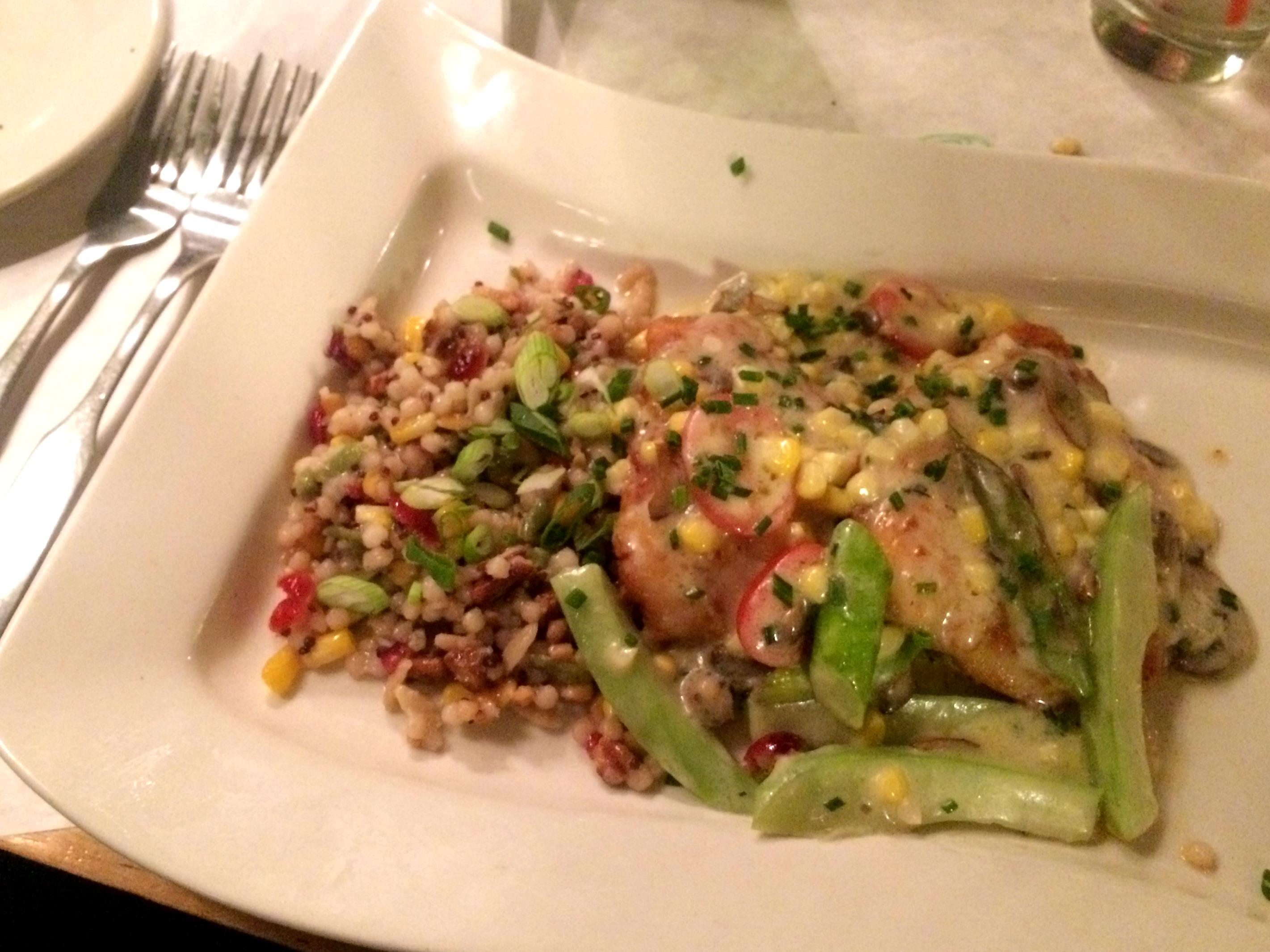krus and muer chicken dinner