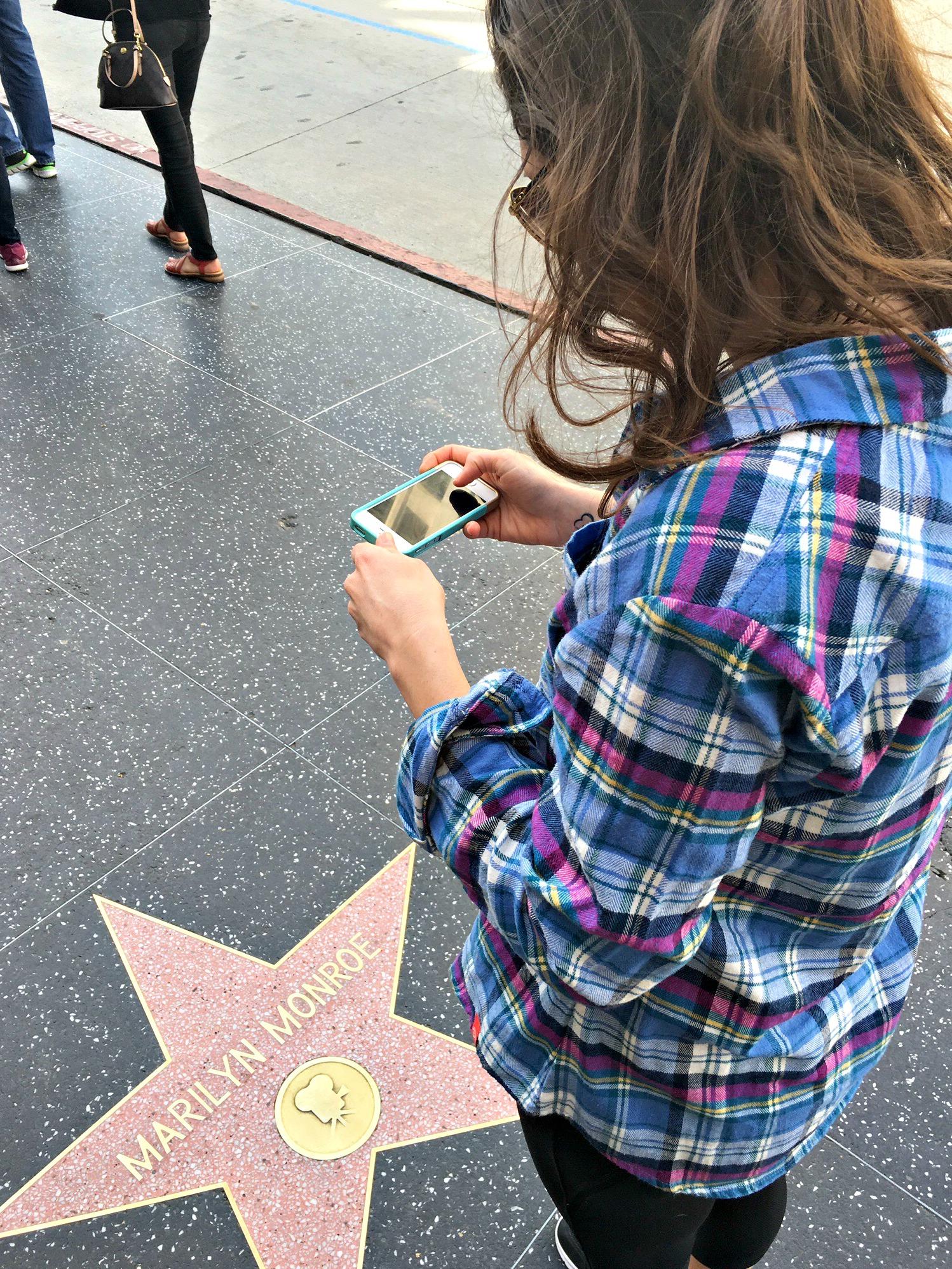 marilyn monroe star walk of fame