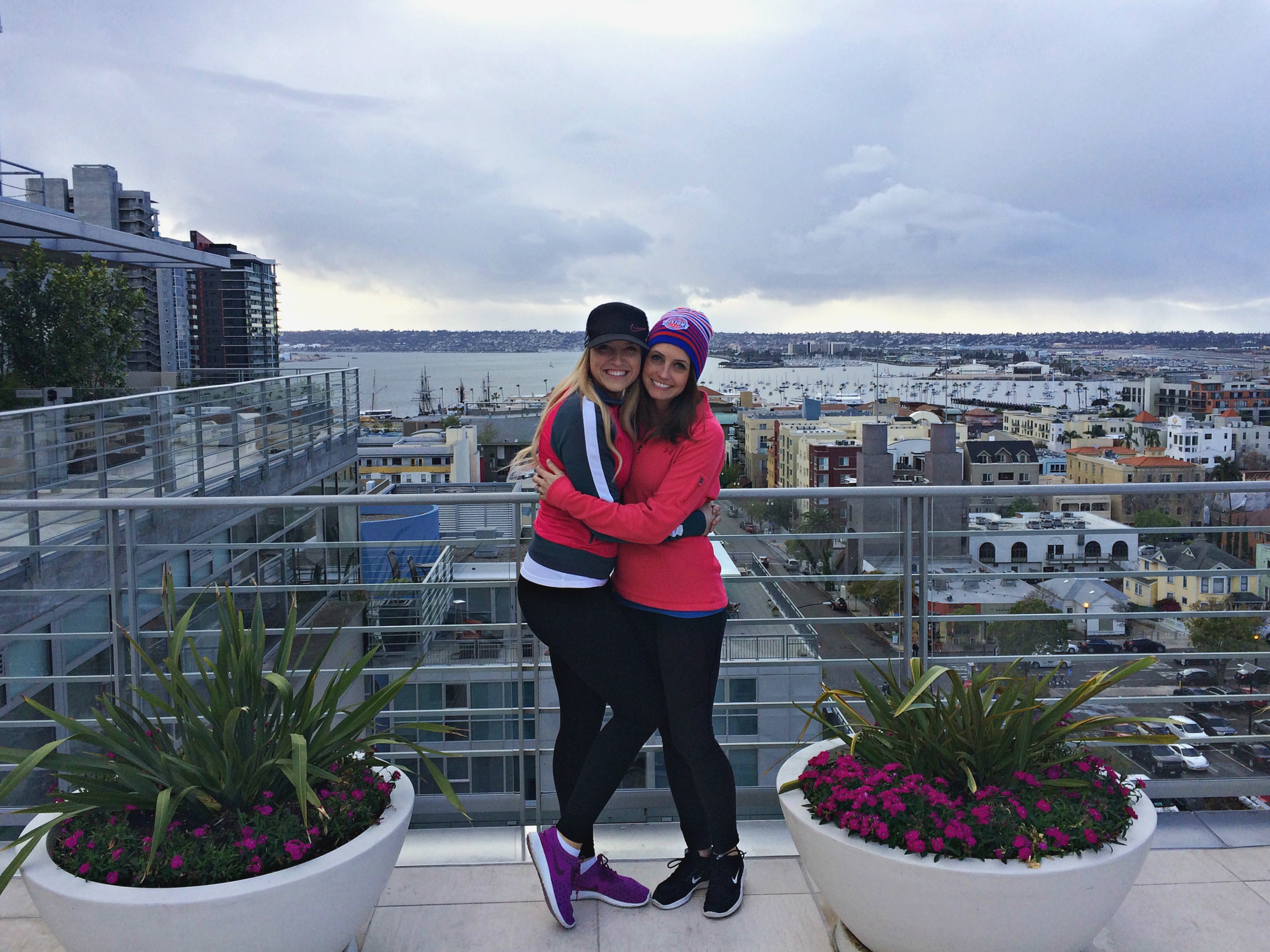 rooftop san diego with kylee