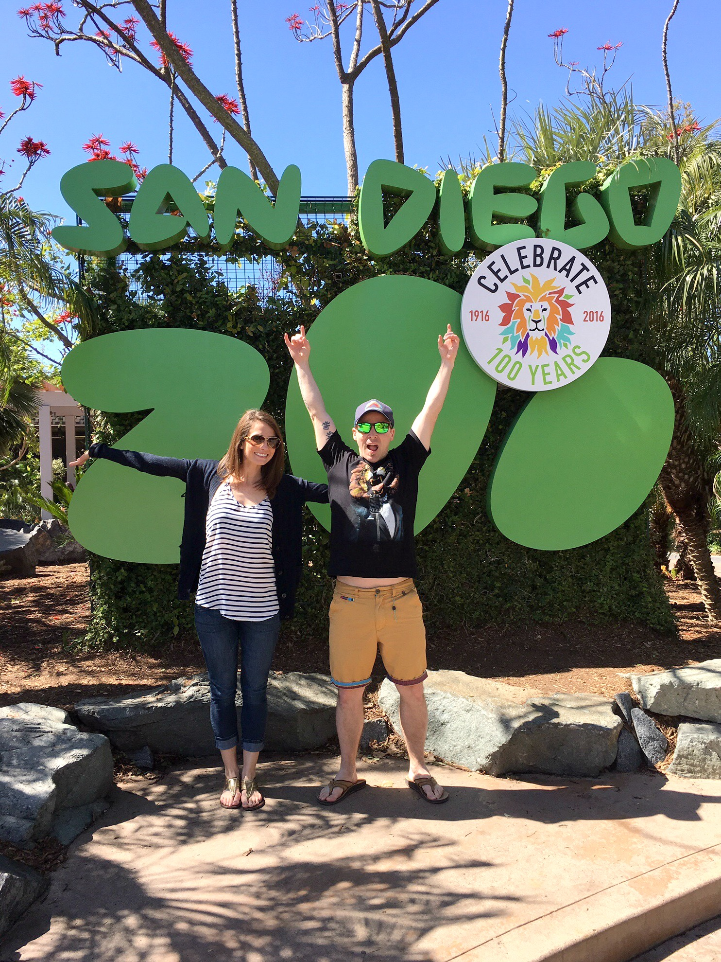 san diego zoo entrance scott and heather
