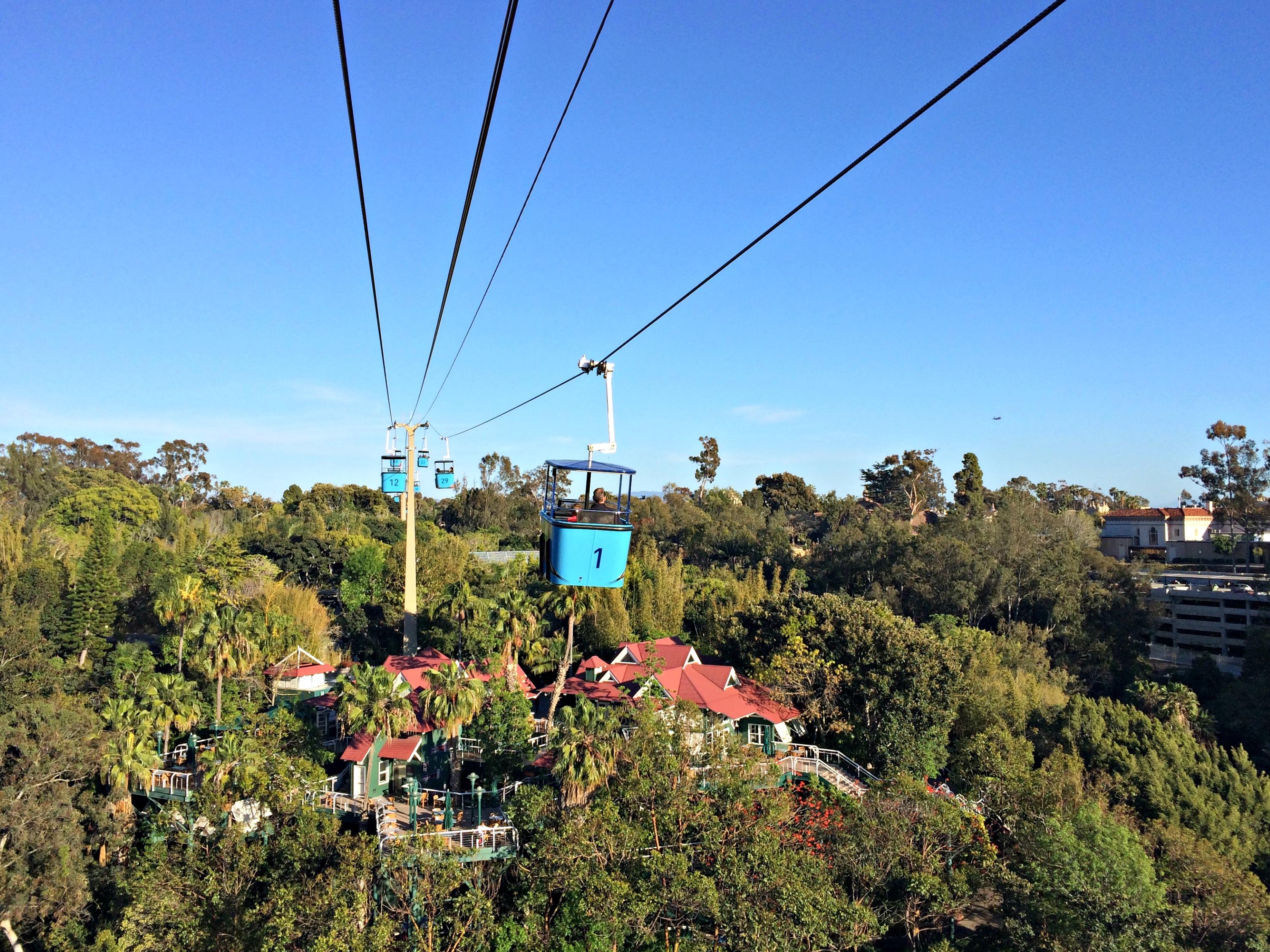 san diego zoo skyway ride