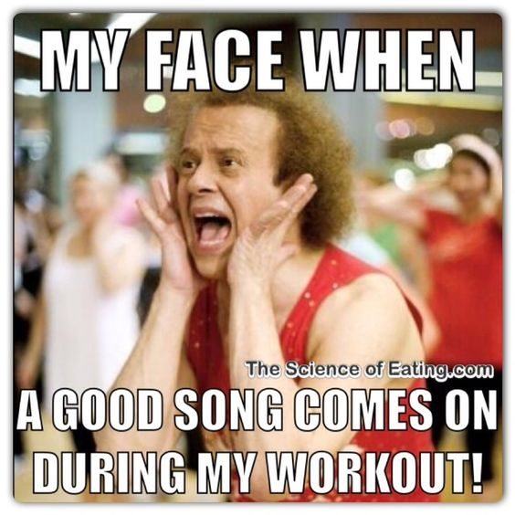 workout meme funny