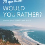 would you rather survey questions