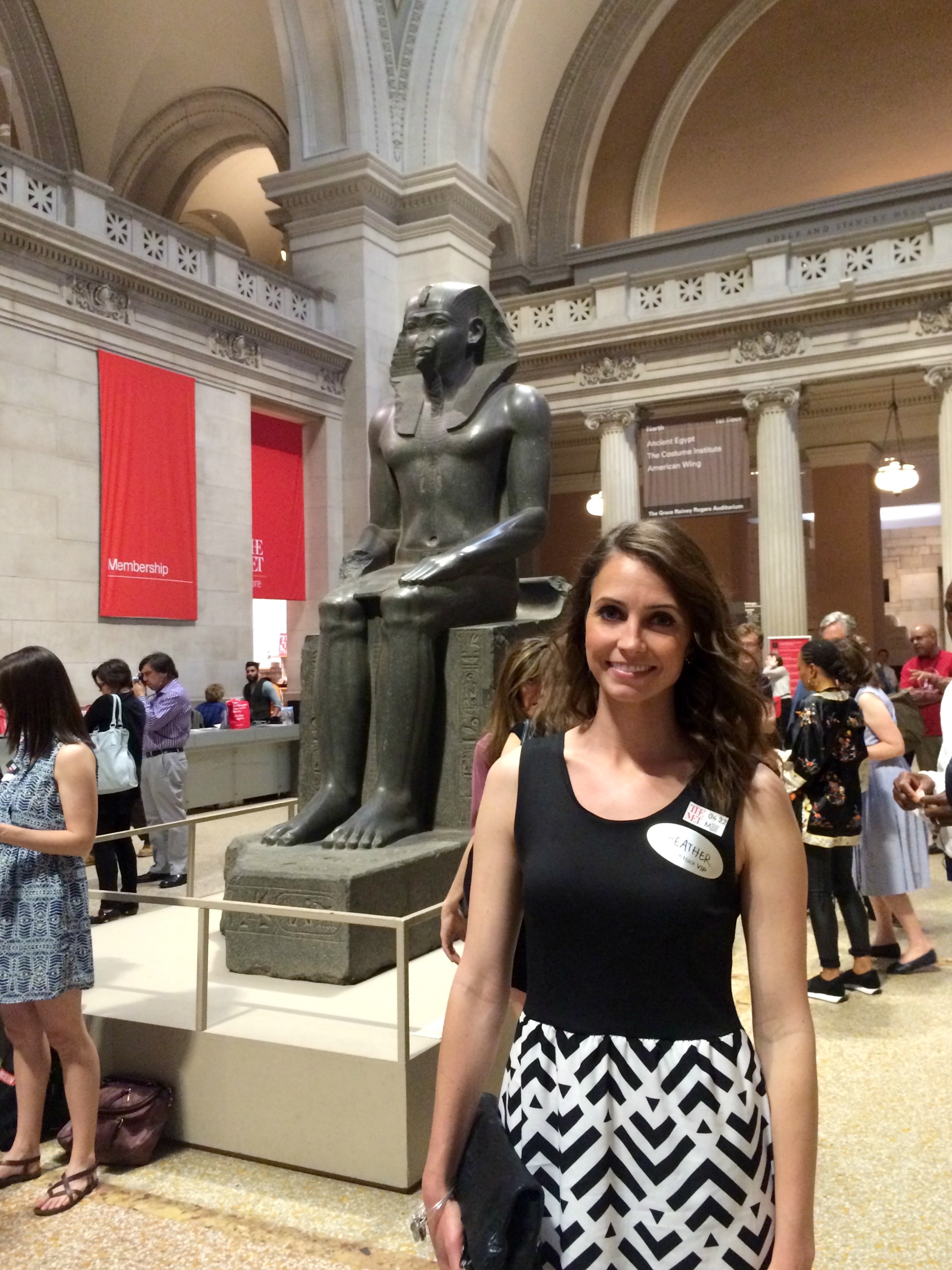 Heather at the Met Museum NYC