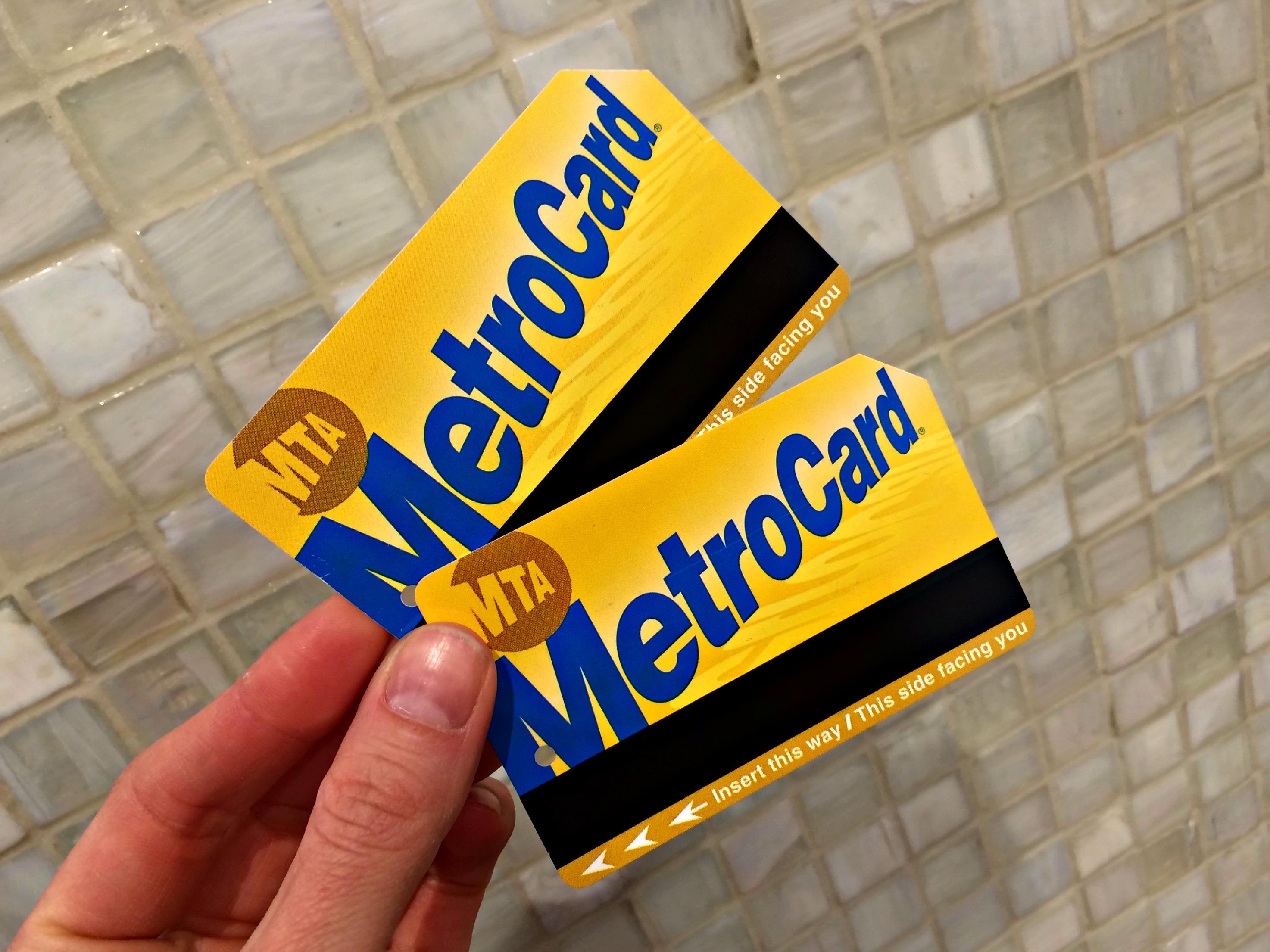 MetroCard nyc