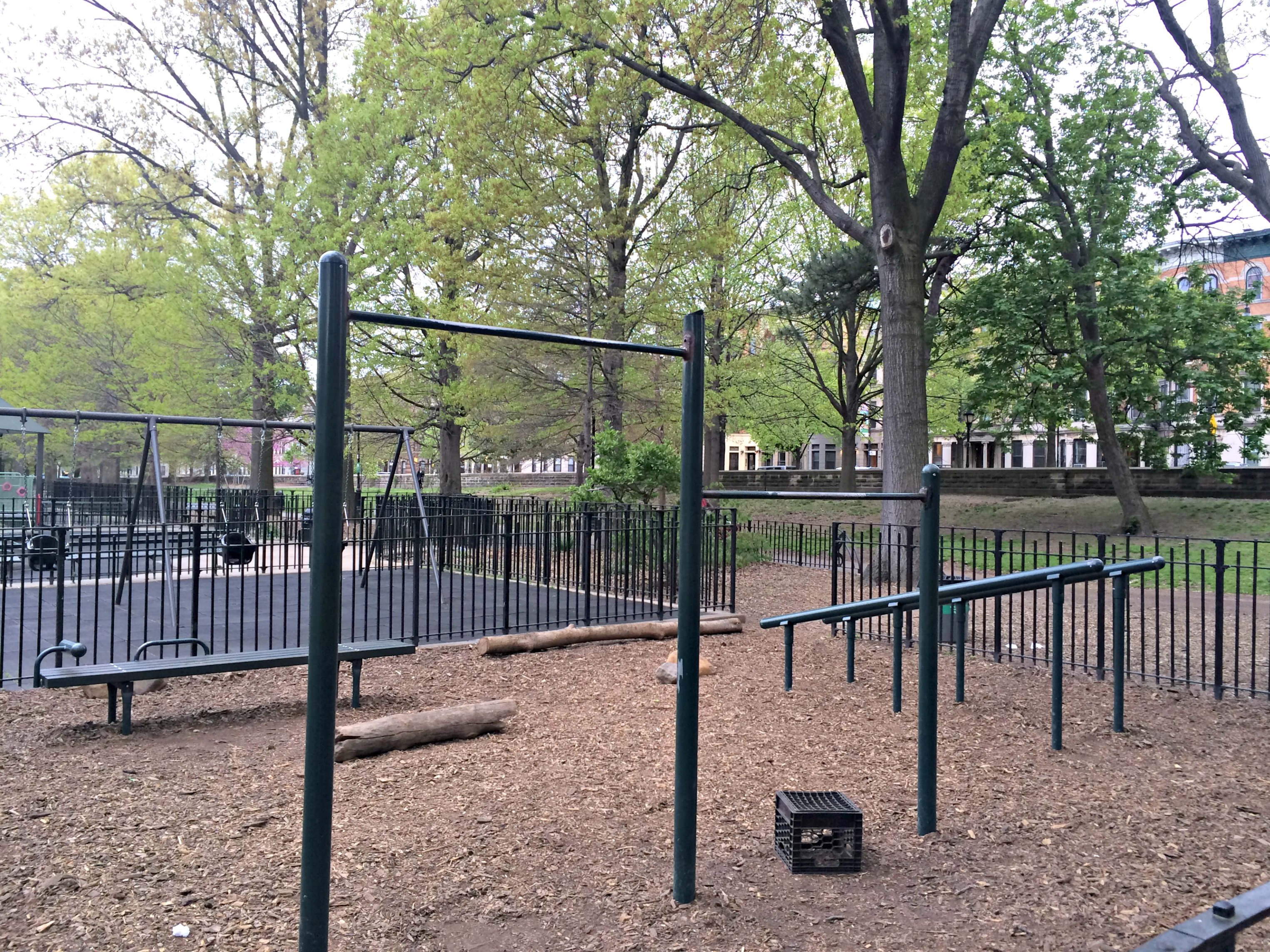 Prospect Park workout area