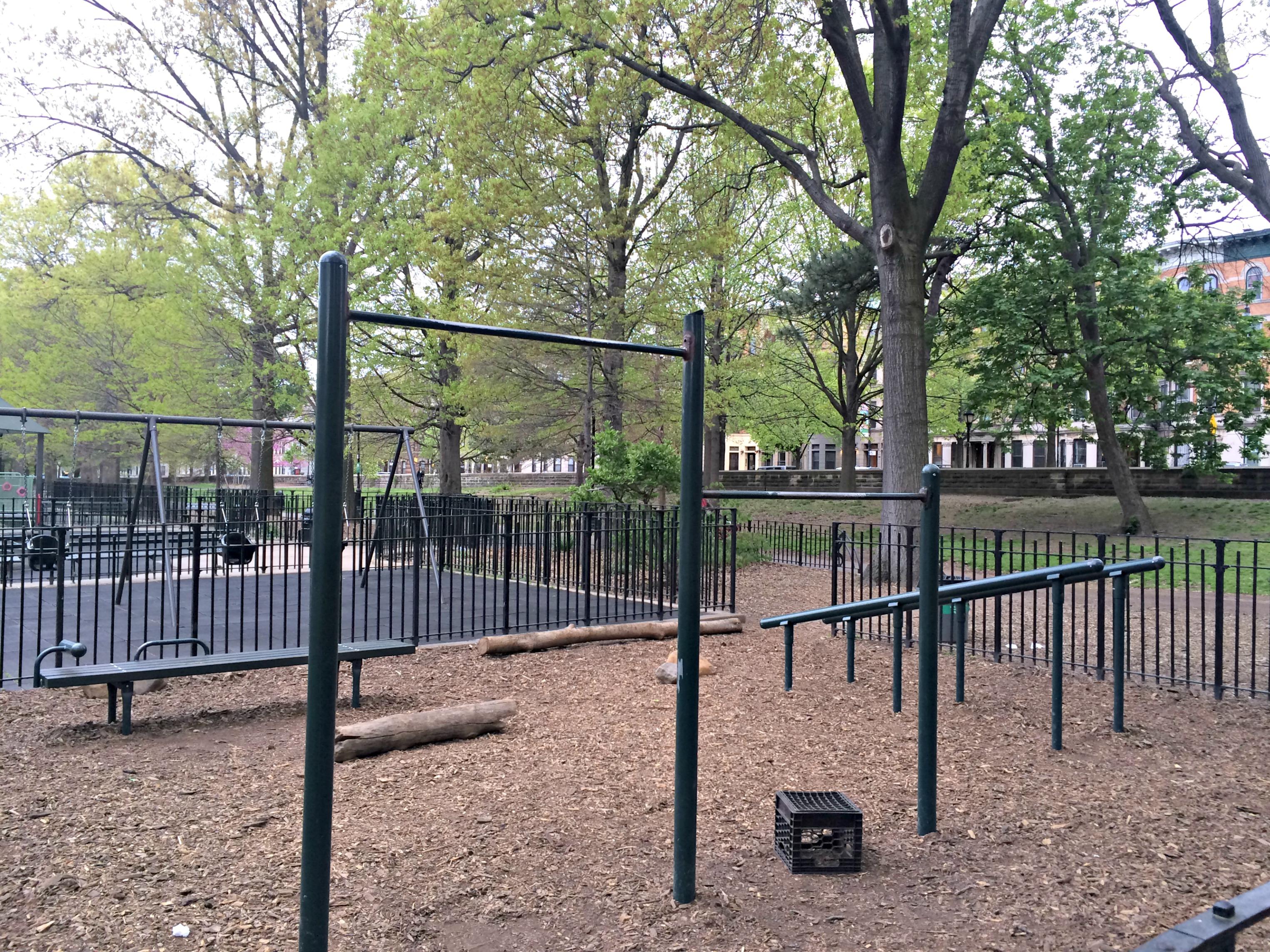 Prospect Park workout area