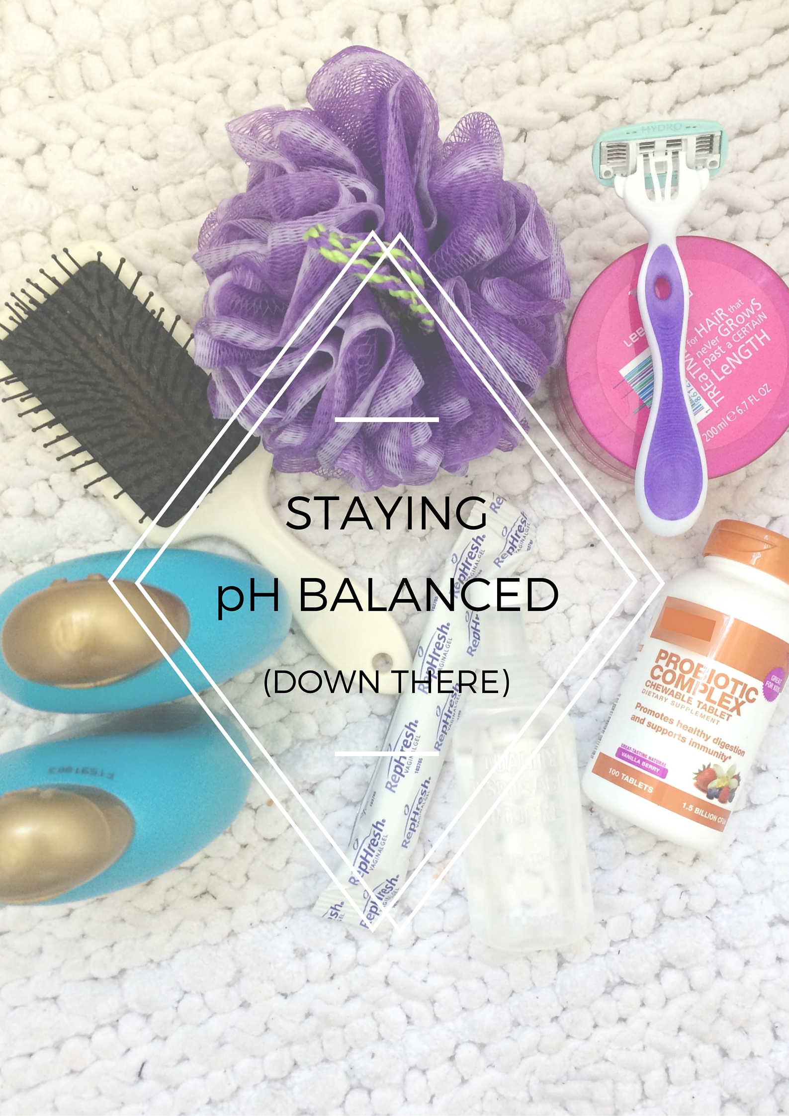 Staying Healthy and pH Balanced Down There - Vaginal Health