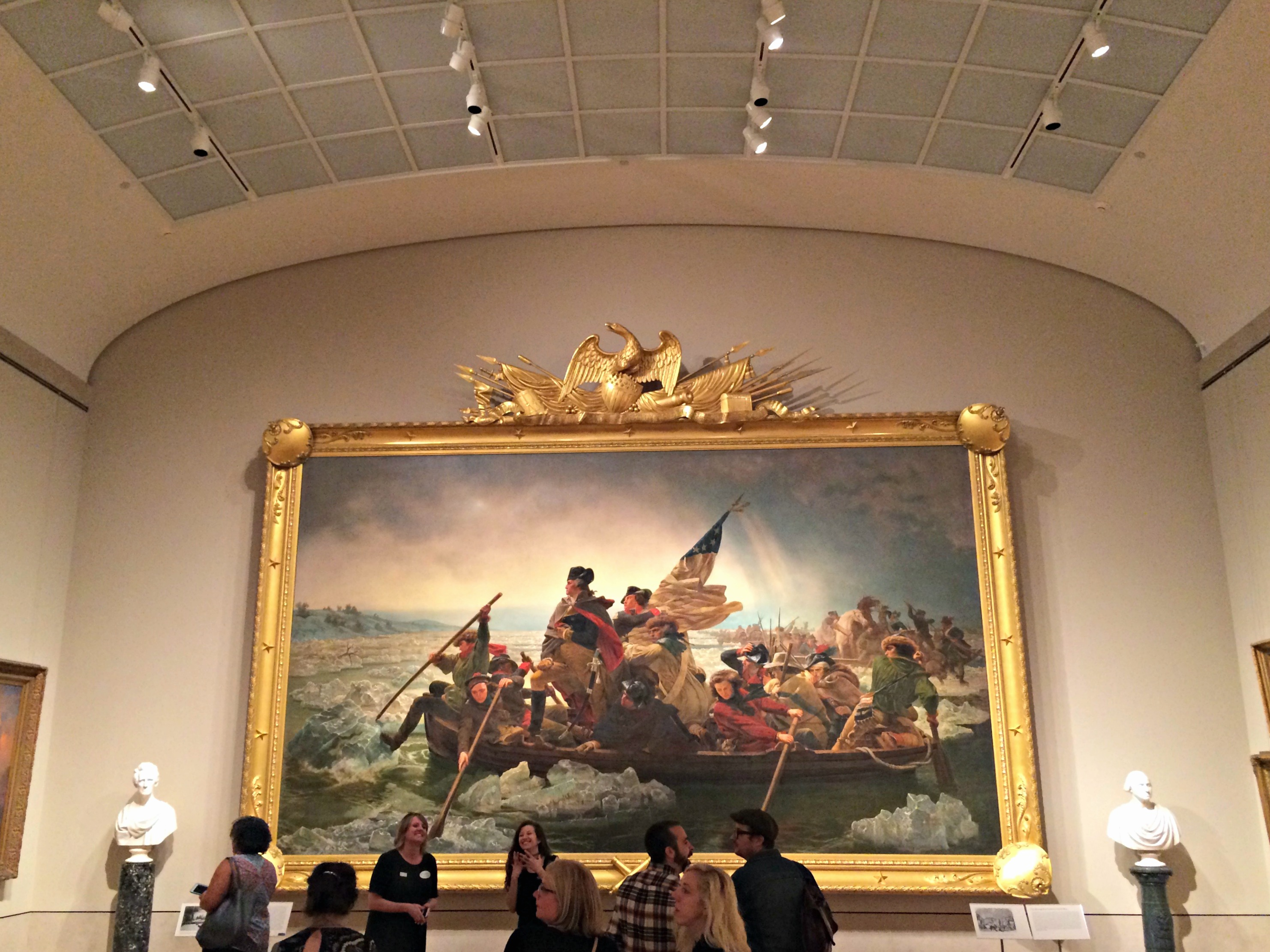The Met Museum - George Washing Crossing The Delaware