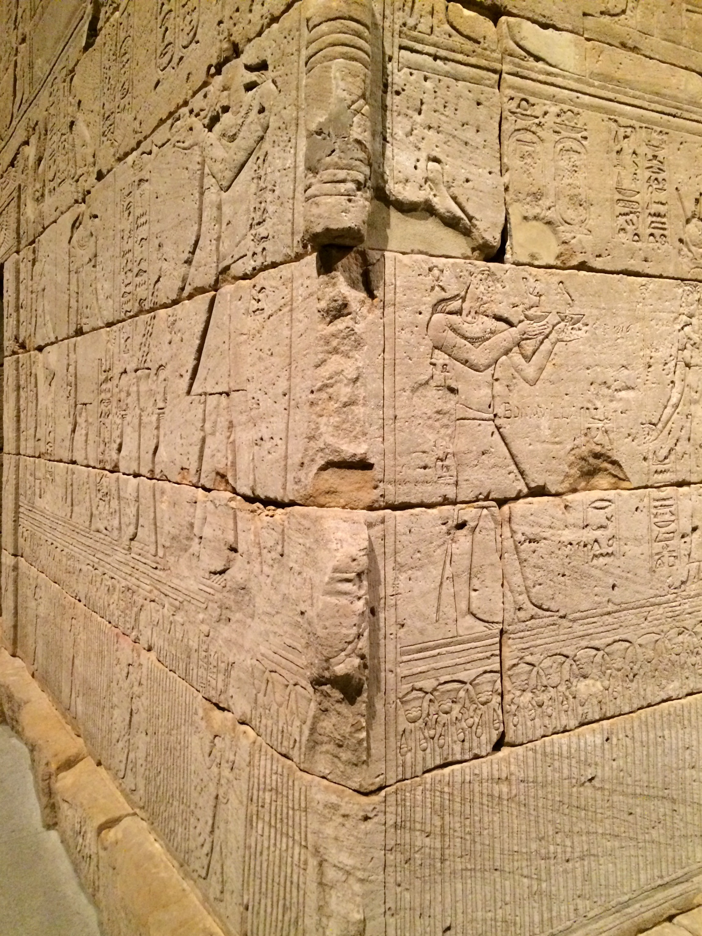The Met Museum - The Temple of Dendur engravings