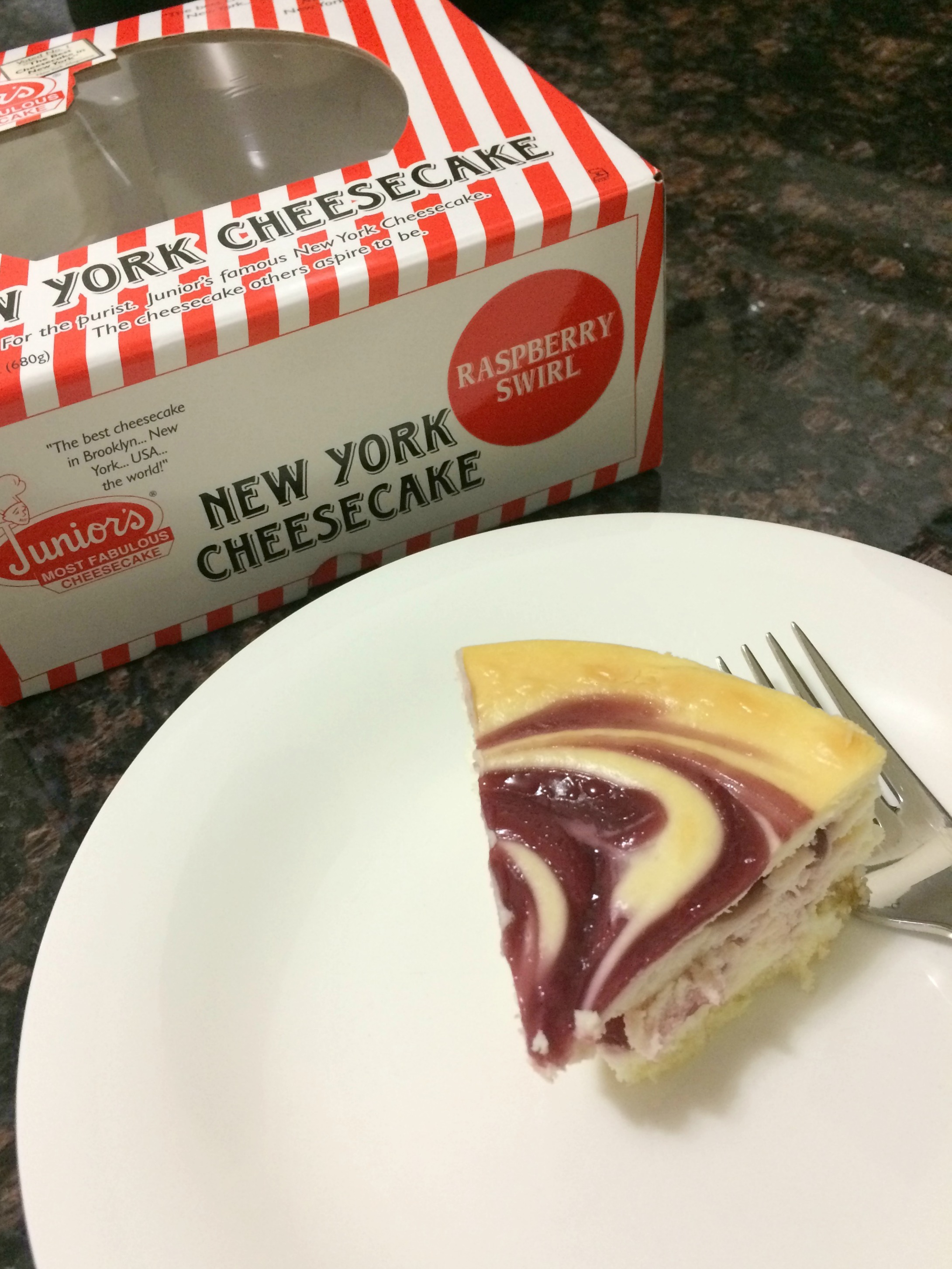 Junior's New York Cheesecake
