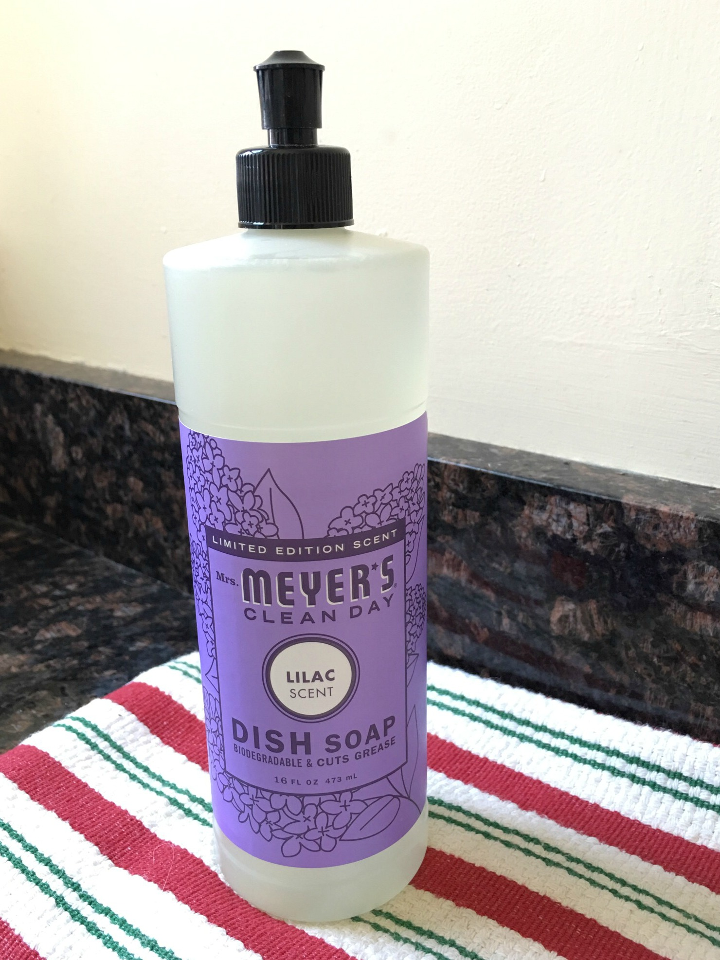 Meyer's clean day dish soap
