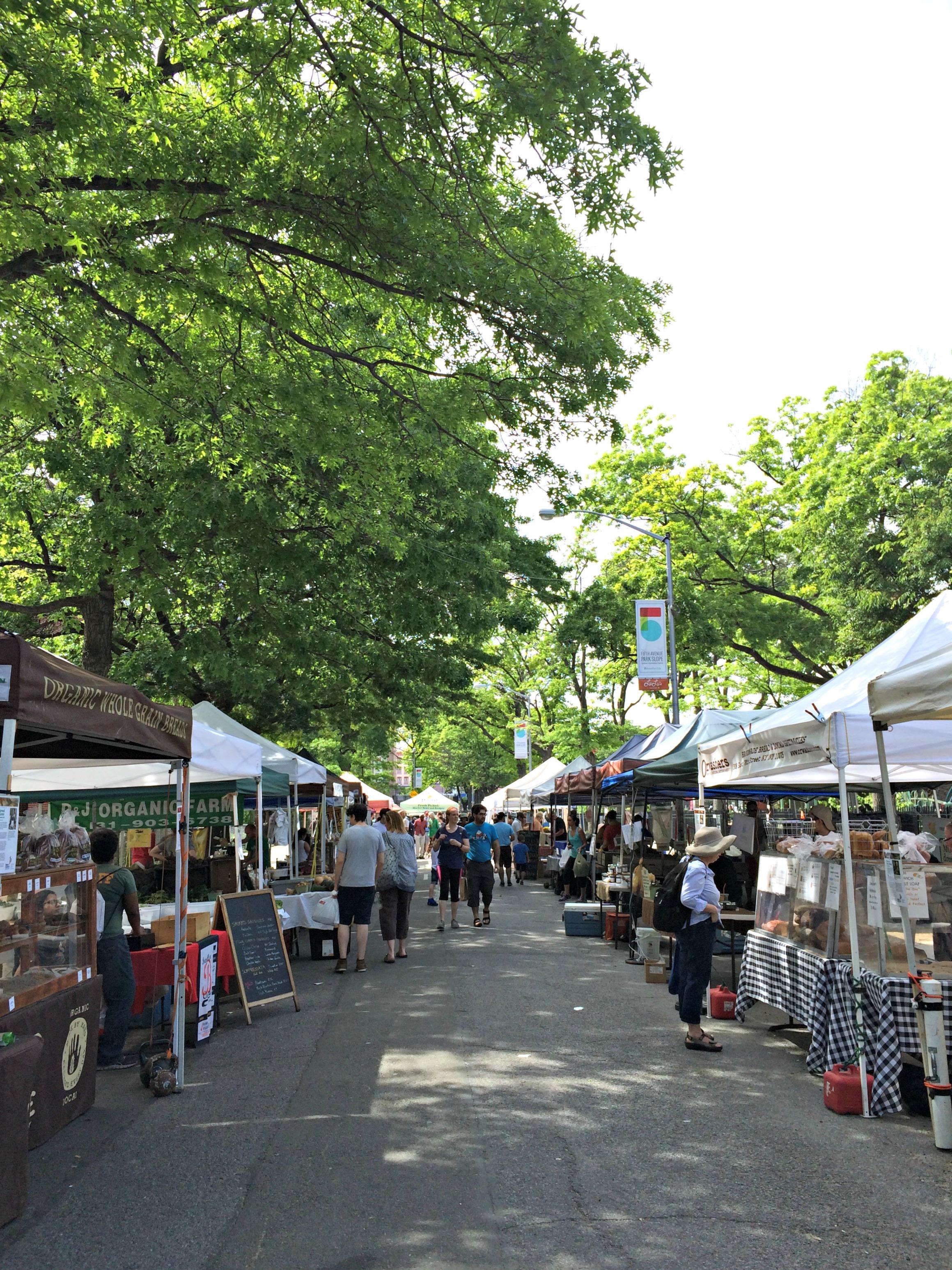Park Slope farmer's market
