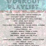 Spring Outside Workout Playlist