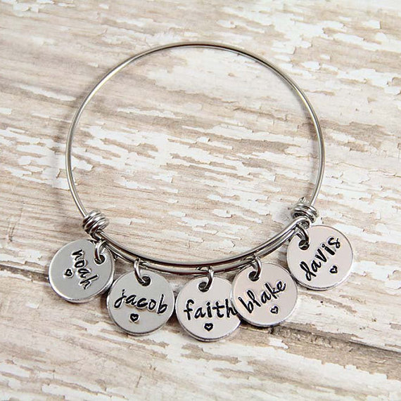 childrens name bracelet - alex and ani