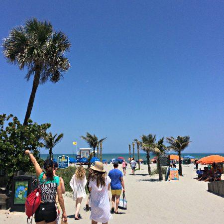 friends at Cocoa Beach