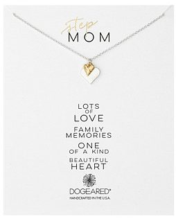 step-mom dogeared necklace