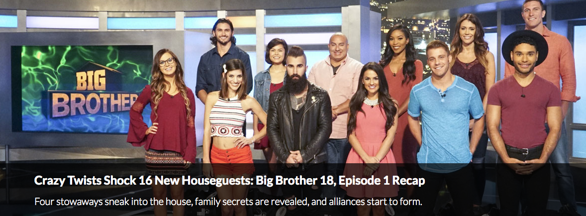 Big Brother Season 18