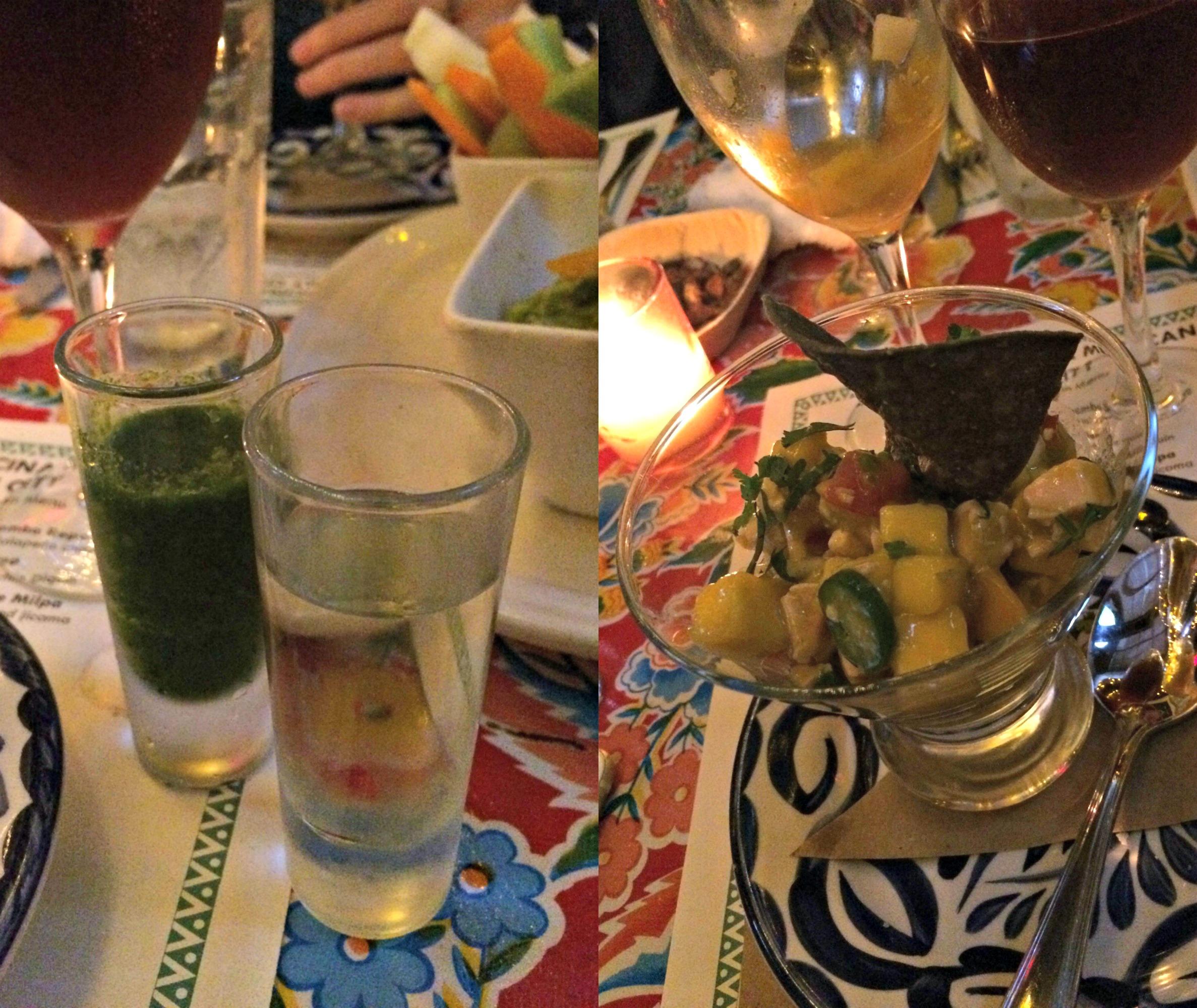 La Palapa healthy mexican menu