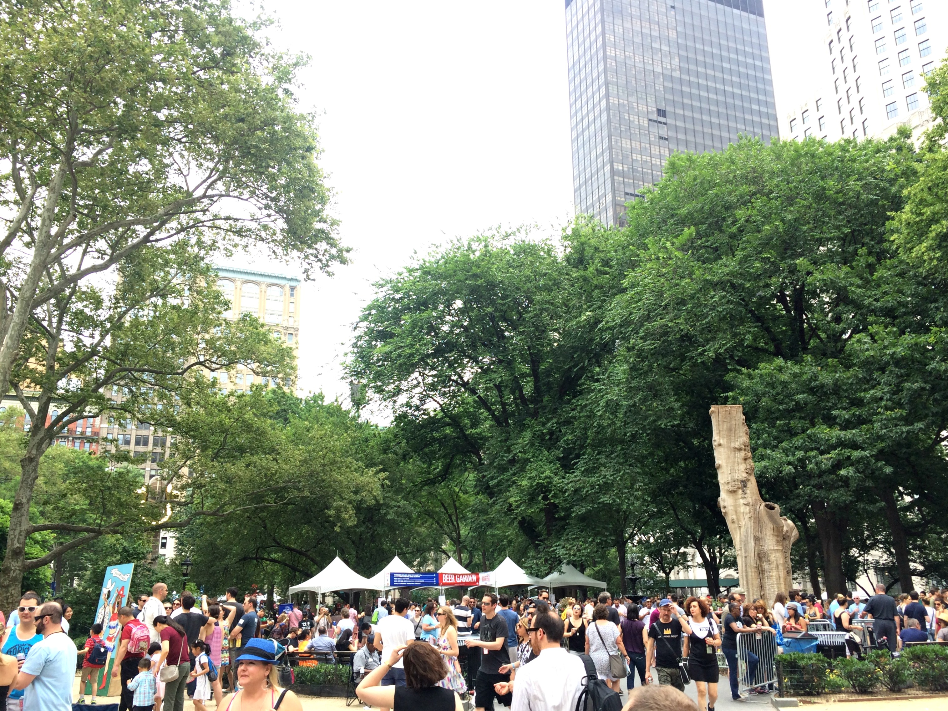 Madison Square Park NYC - Big Apple BBQ