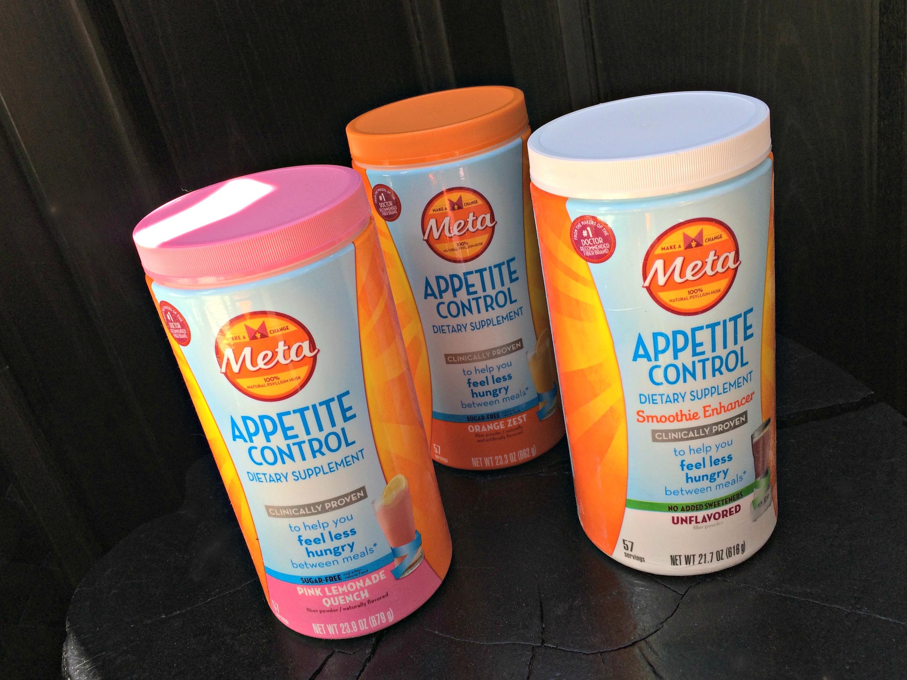 Meta appetite control dietary supplement