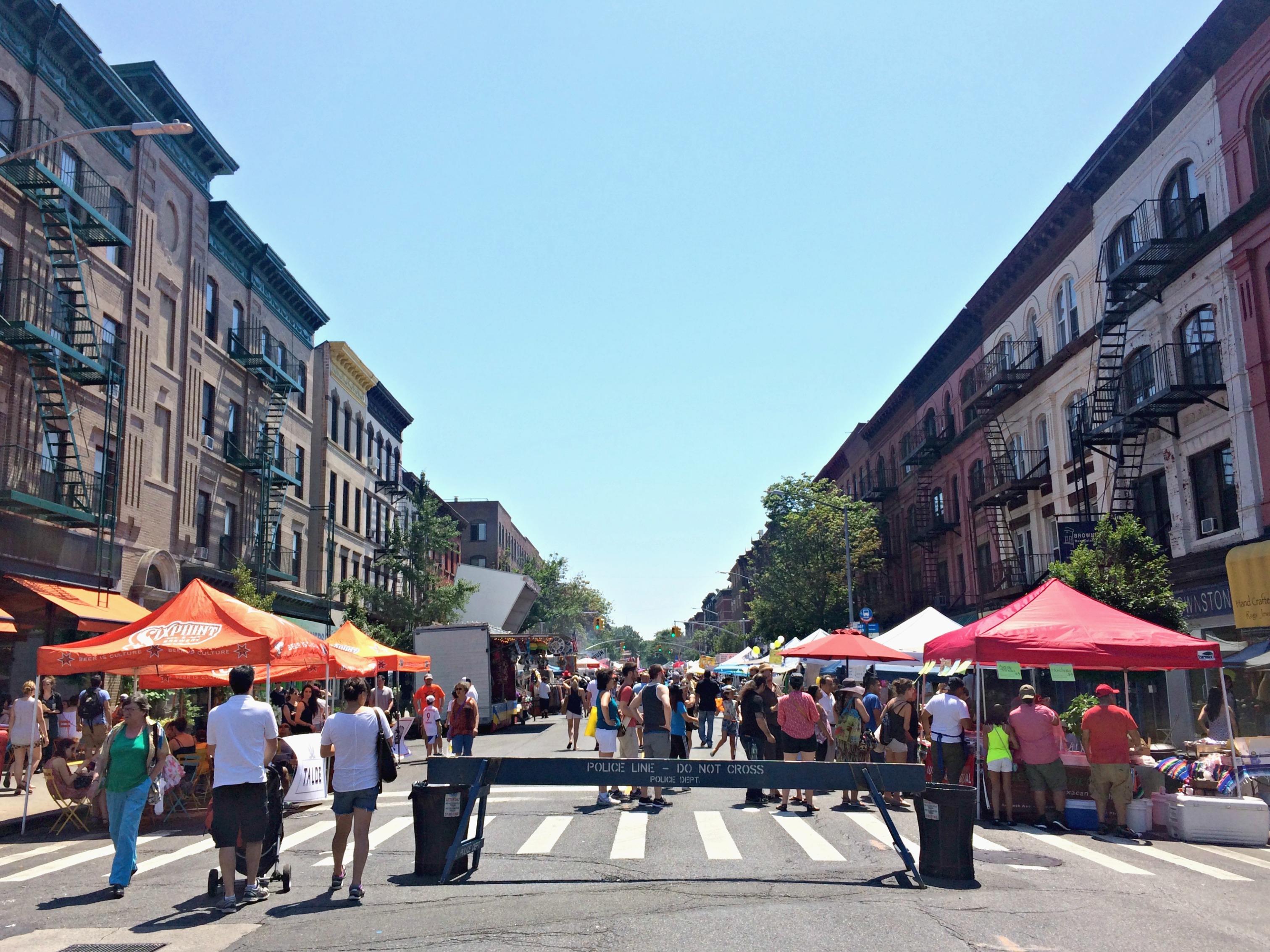 Park Slope weekend festival