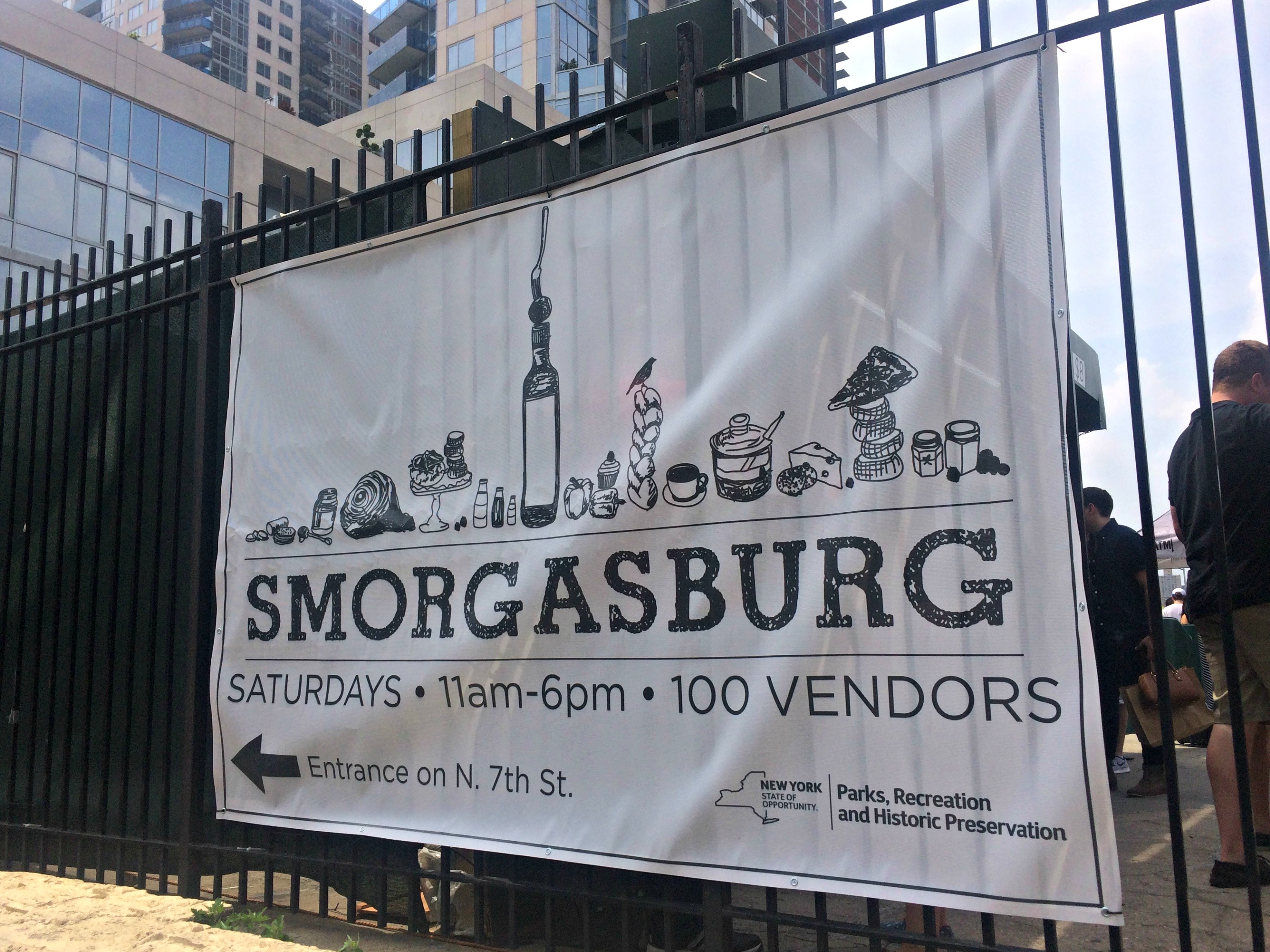 Smorgasburg in Williamsburg, Brooklyn