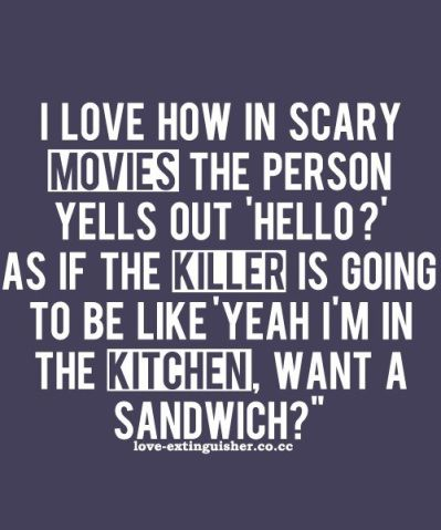 funny scary movie quote