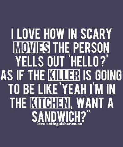 scary movie funny