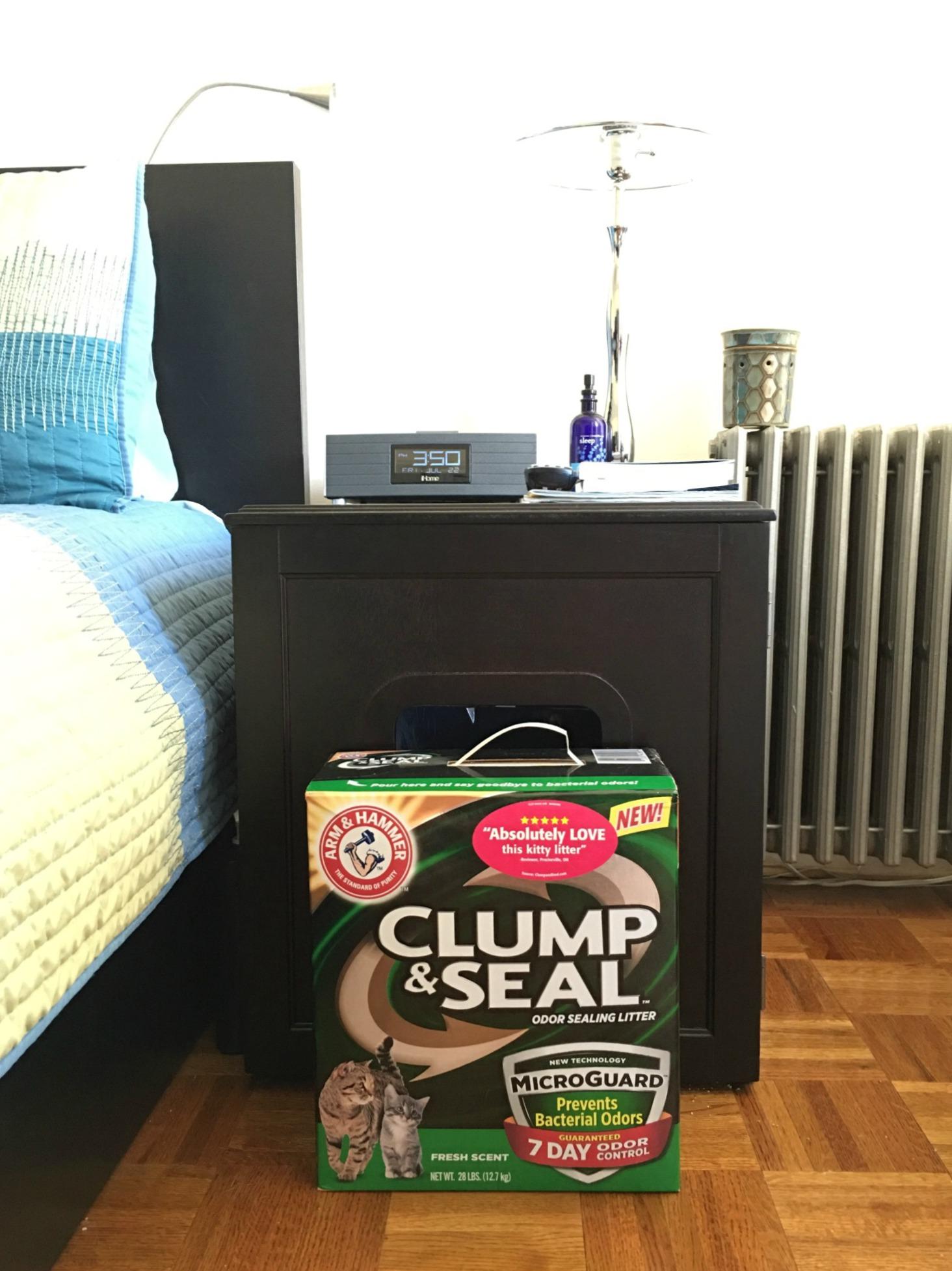 Arm & Hammer Clump & Seal Odor Sealing Litter