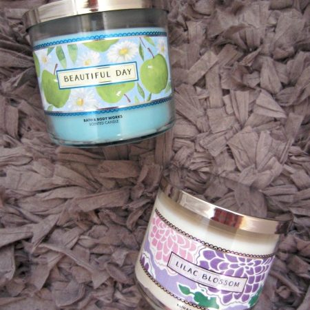 Bath & Body Works summer candles