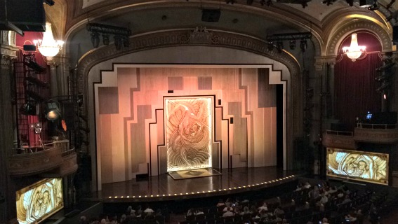 Cirque Du Soliel Paramour theater