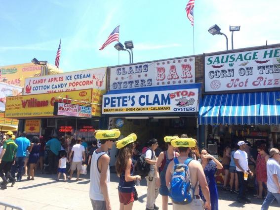 Coney Island Nathan's Hot Dog hats