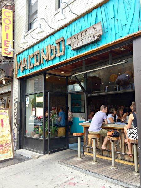 Macondo Restaurant NYC