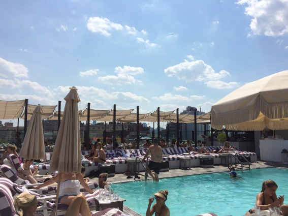Soho House Rooftop pool