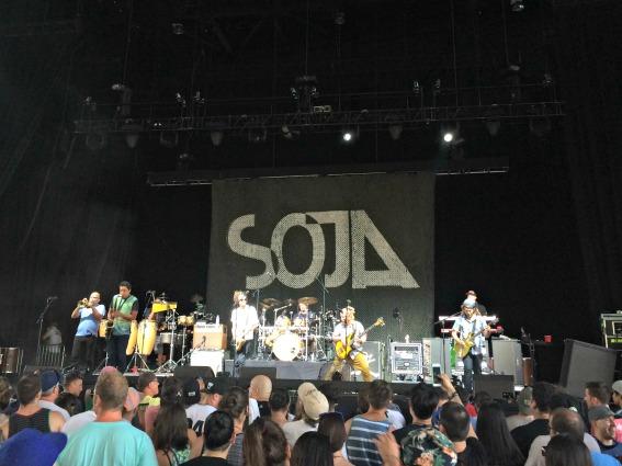 Soja concert - Coney Island