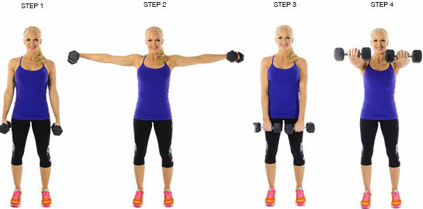 alternating shoulder lateral raises