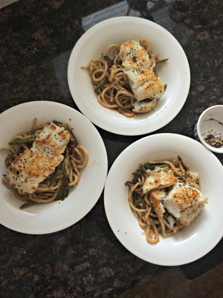cod and udon noodles blue apron