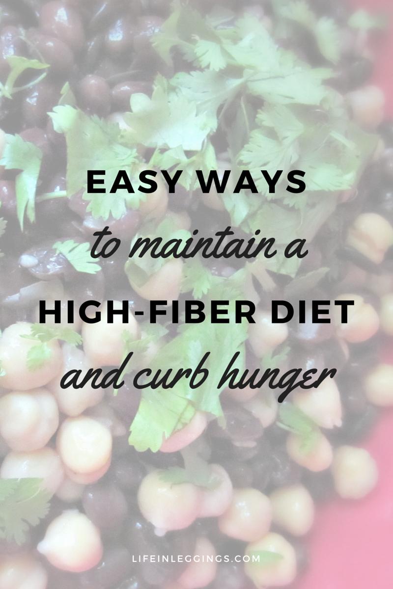 feel fuller, longer with a high-fiber diet