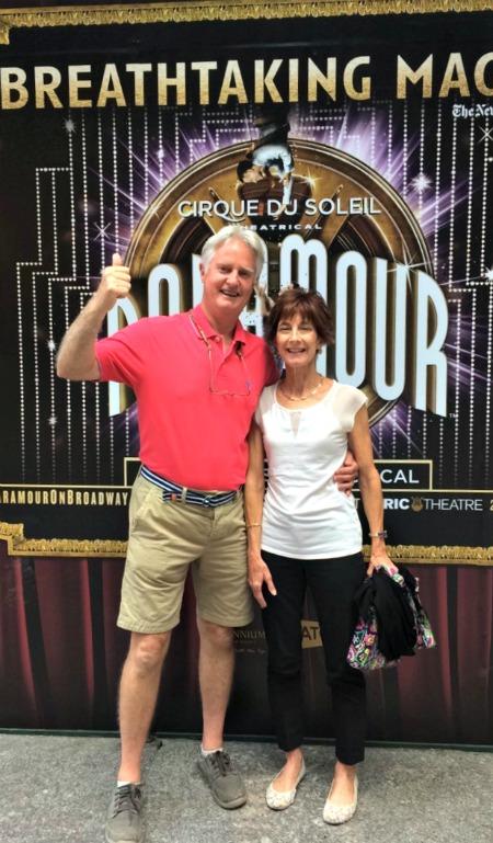 mom and dad at paramour nyc